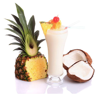 Foto Piña colada Virgin (zonder alcohol)
