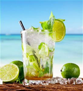 Foto Mojito virgin (zonder alcohol)